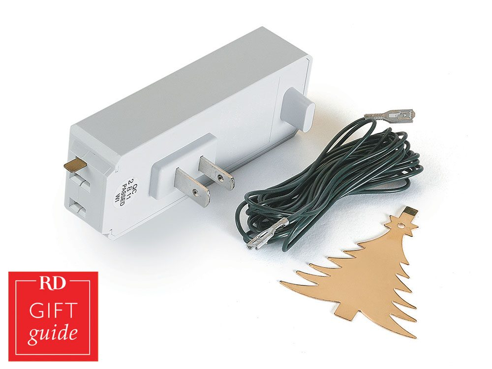 Canadian gift guide - Christmas tree light control