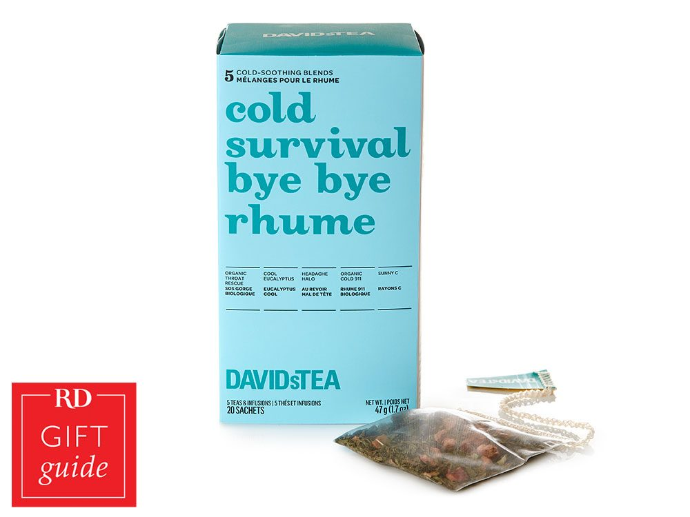 Canadian Gift Guide - David's Tea Cold Survival set