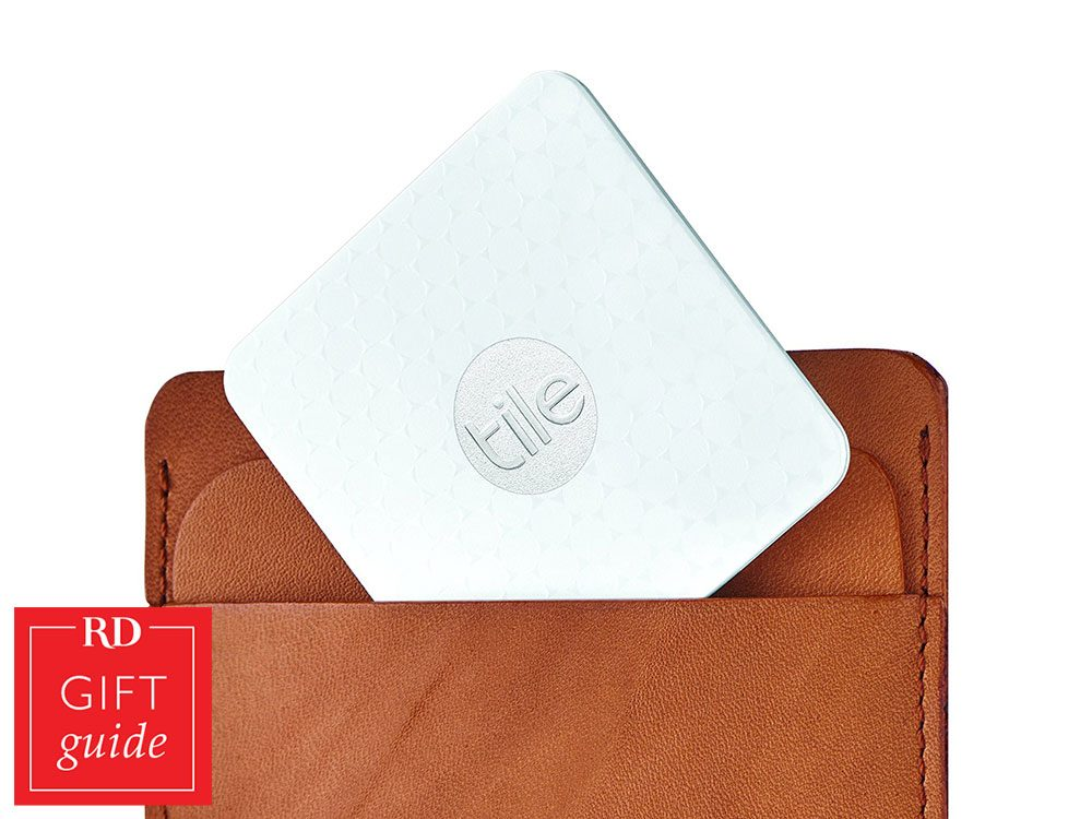 Canadian Gift Guide - Tile wallet finder