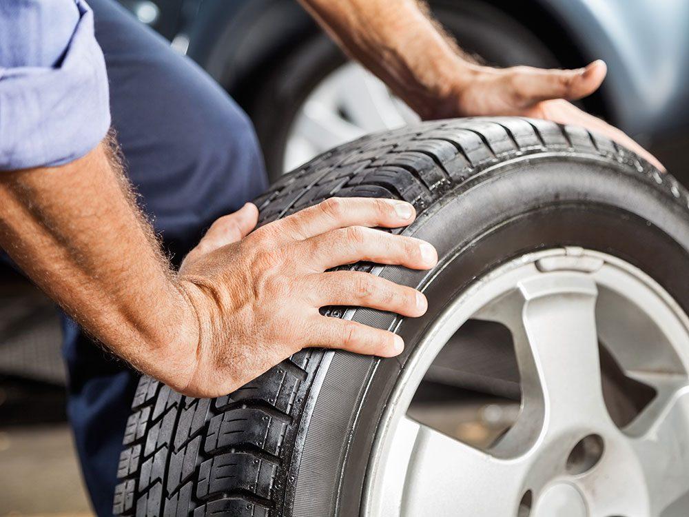 Car maintenance services: Wheel alignment