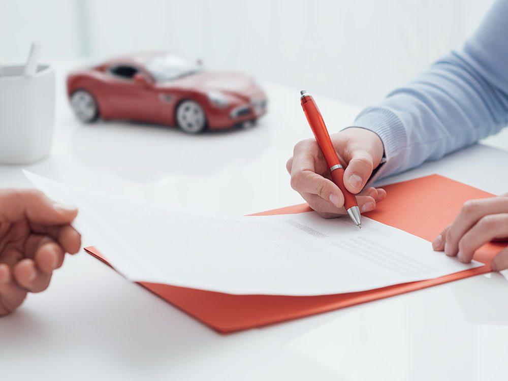 Car rental agency loyalty program