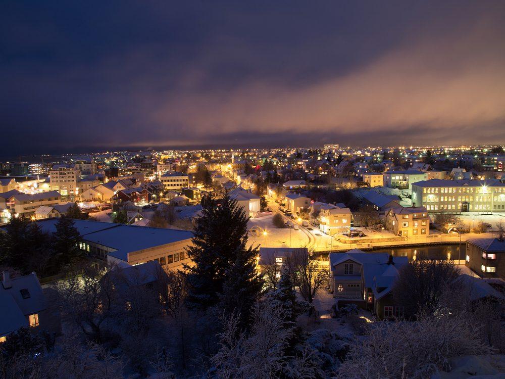 Christmas in Reykjavik, Iceland