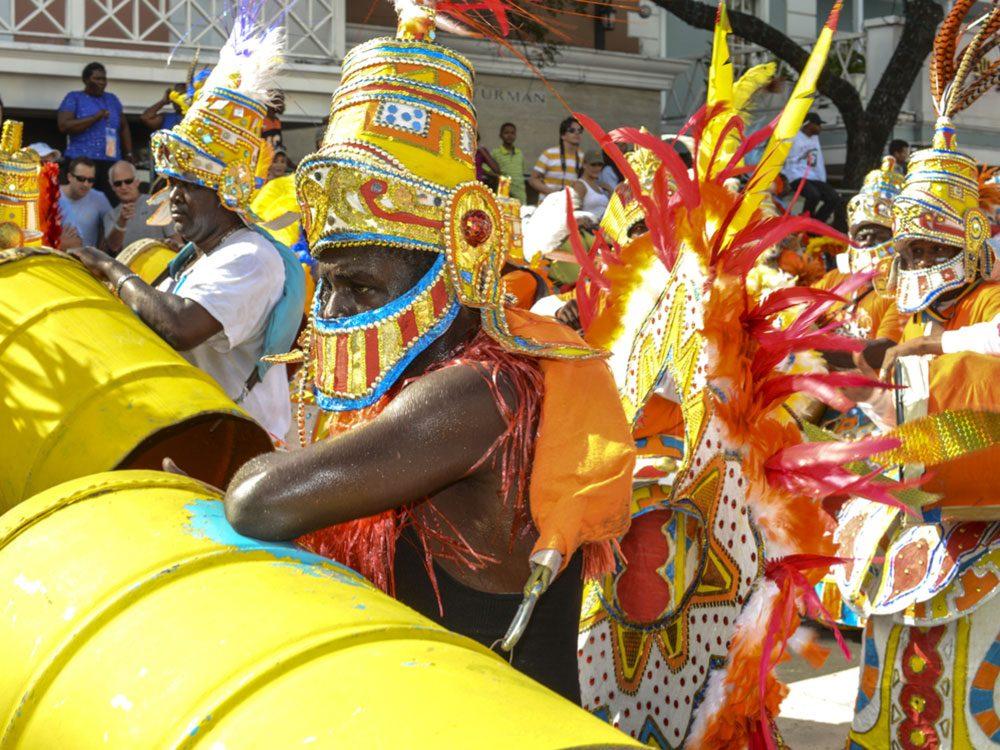 Junkanoo festivities in Jamaica