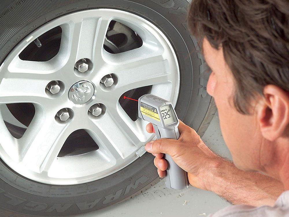 How to get better gas mileage - check for brake drag