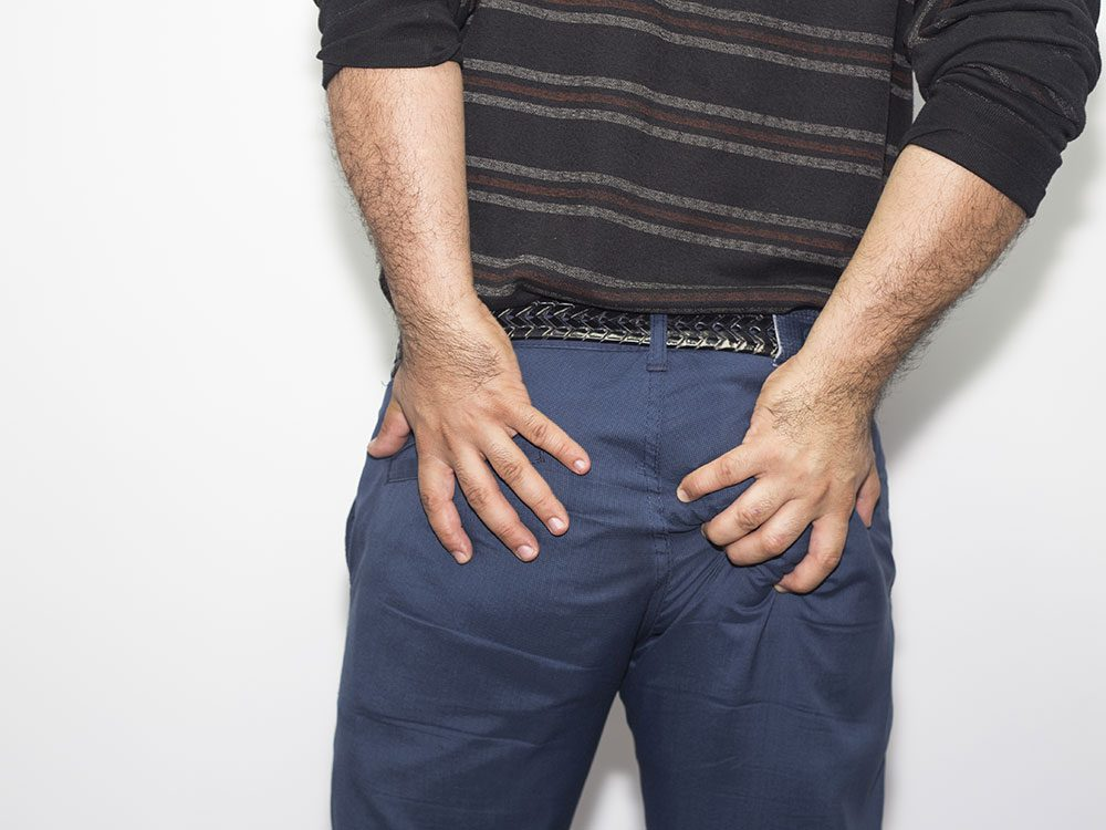 Use petroleum jelly for hemorrhoid relief