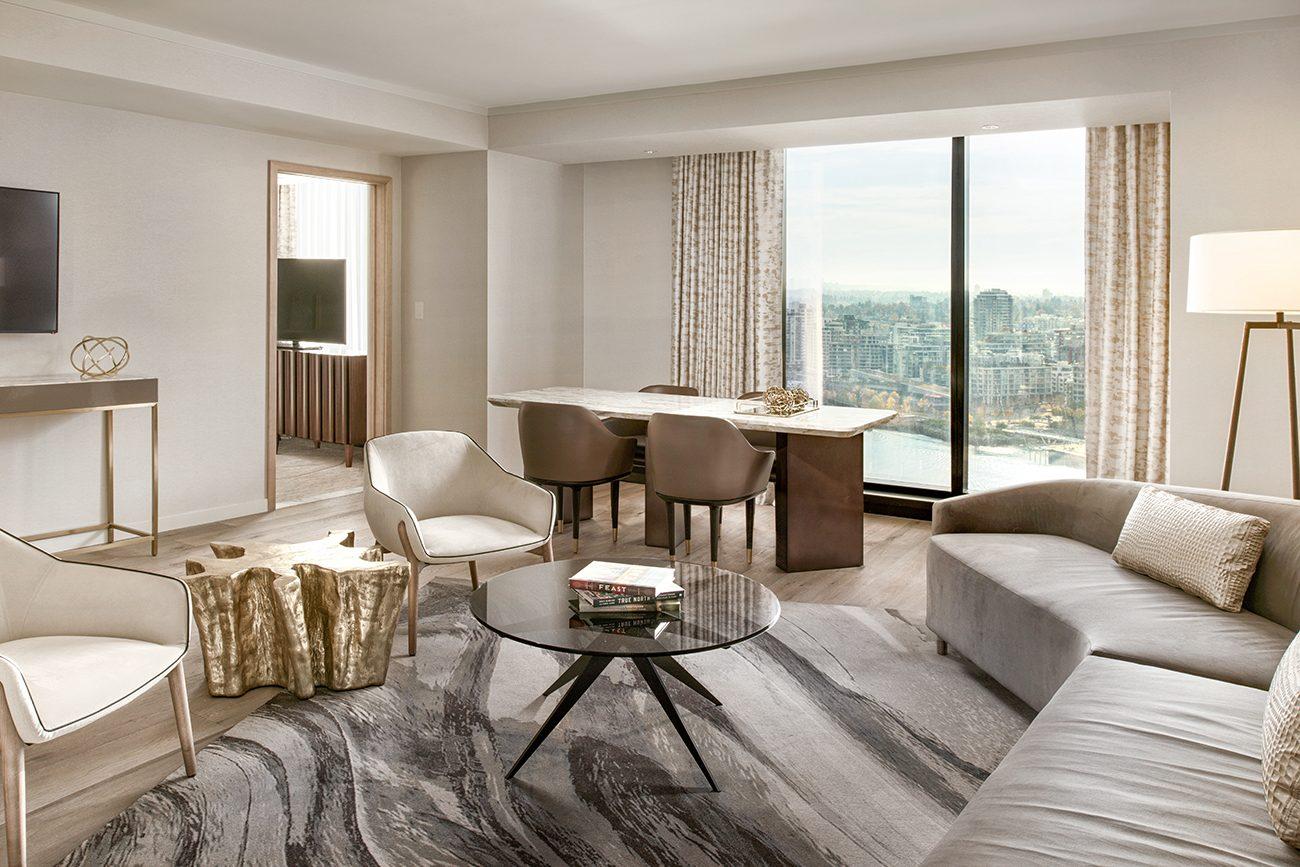 JW Marriott Parq Vancouver suite