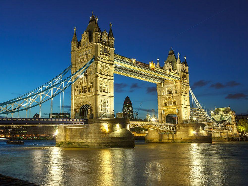 London attractions - Tower Bridge