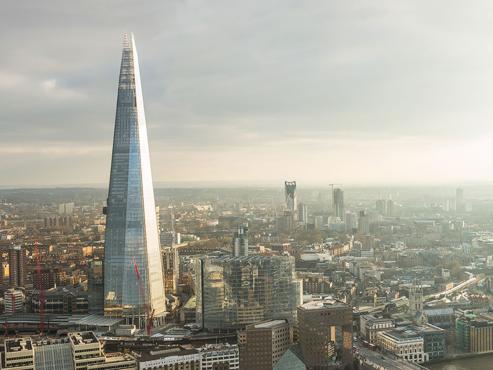 London attractions - View From the Shard