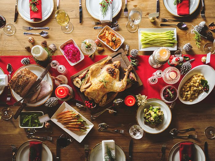 Plan Christmas party: the dinner