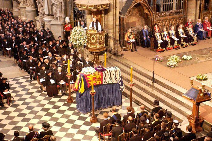 Queen Mother's funeral service