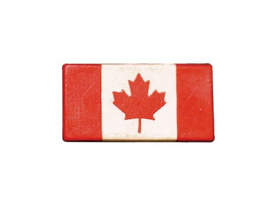 Rare pin collection: Canadian flag