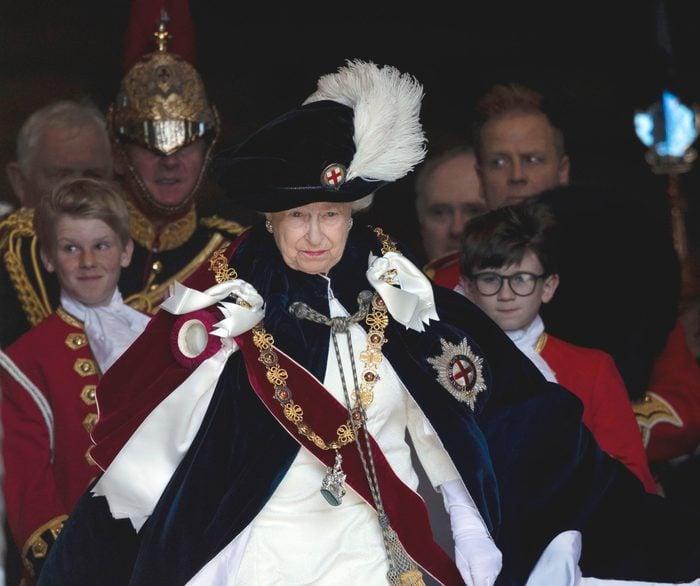 Order of the Garter service, St George's Chapel, Windsor Castle, UK - 18 Jun 2018