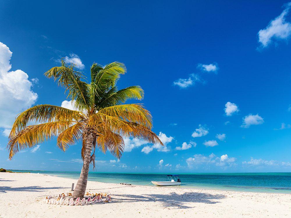 Small islands: Barbuda