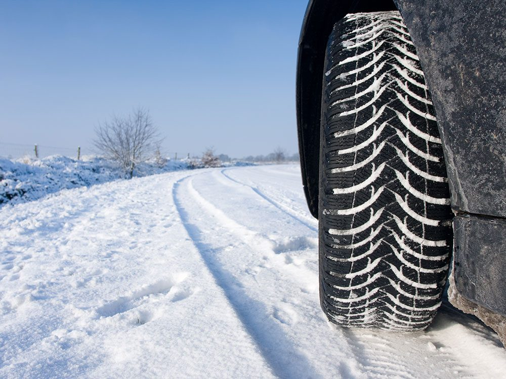 Switch to winter tires