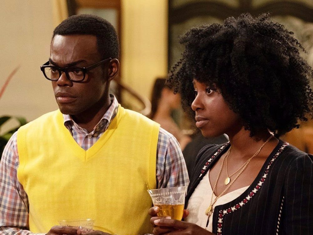 The Good Place quotes - Chidi and Simone