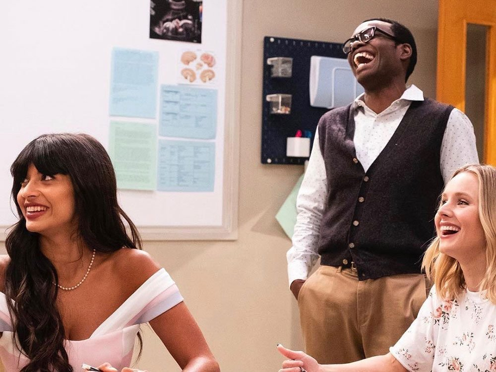 The Good Place quotes - Tahani, Chidi and Eleanor