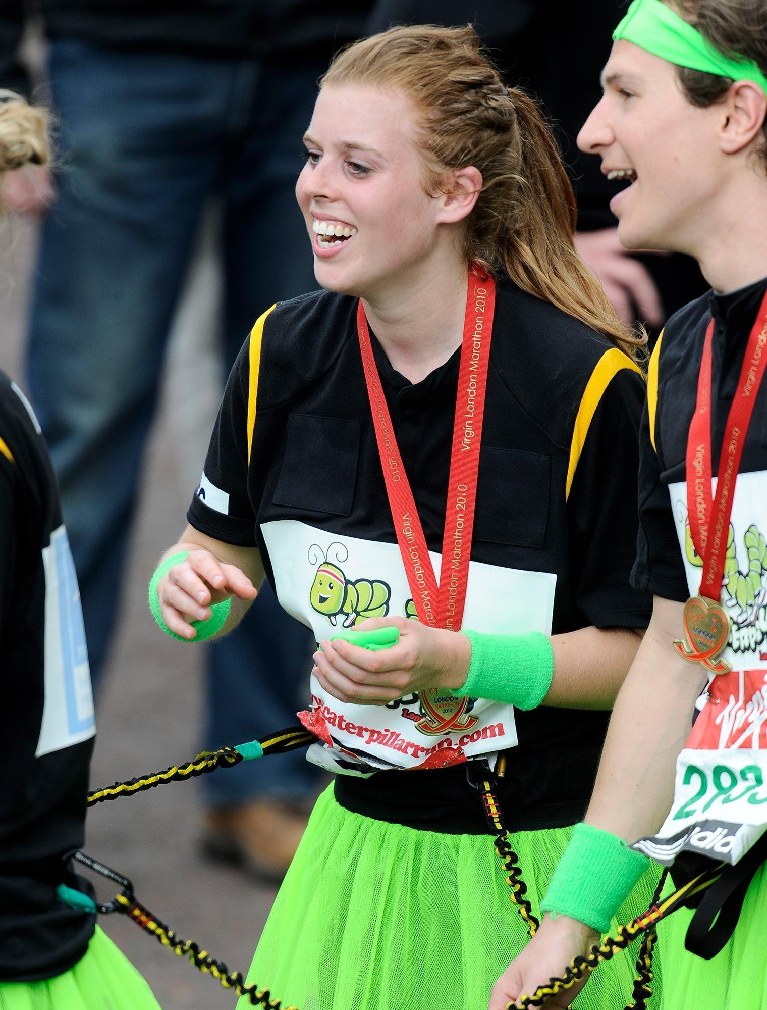 Princess Beatrice running marathon