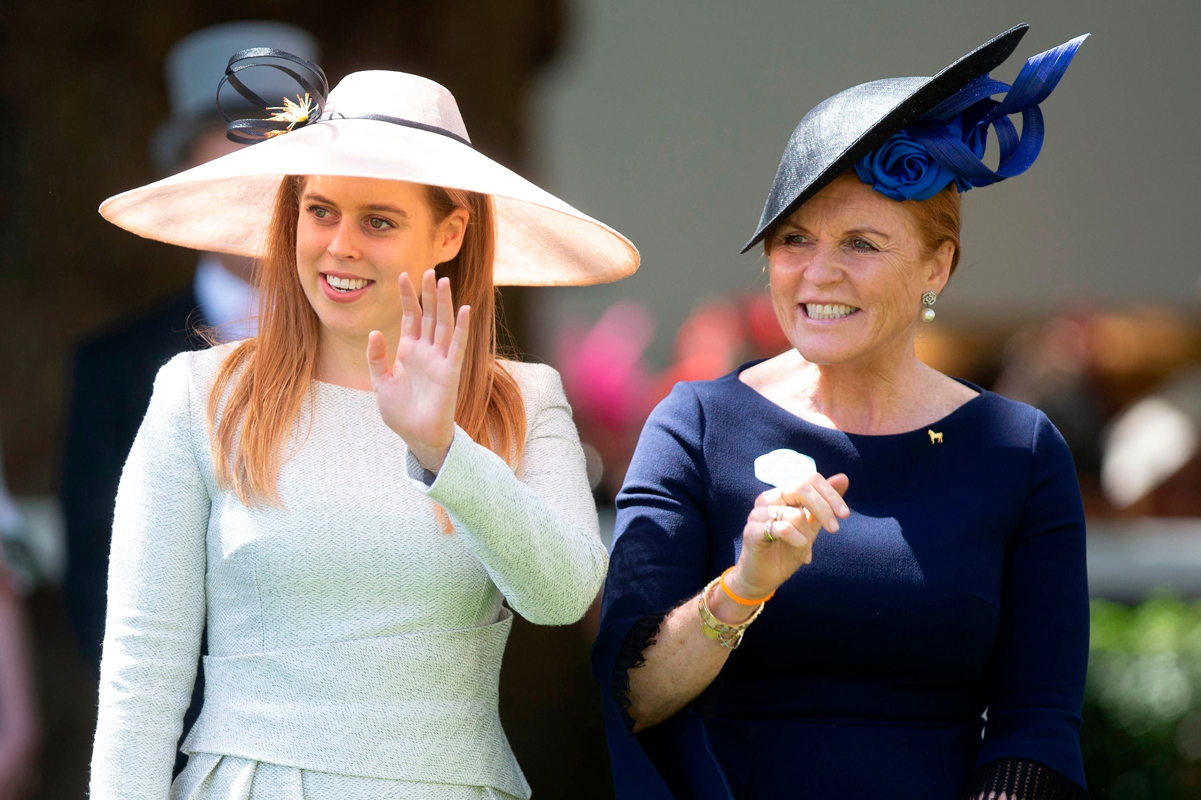 Princess Beatrice and Sarah Ferguson