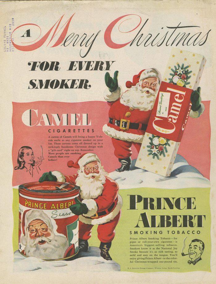 Santa sells