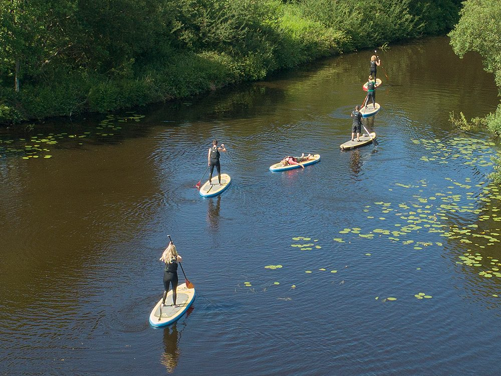 Things to do in Ireland: Paddleboard in Drumshanbo