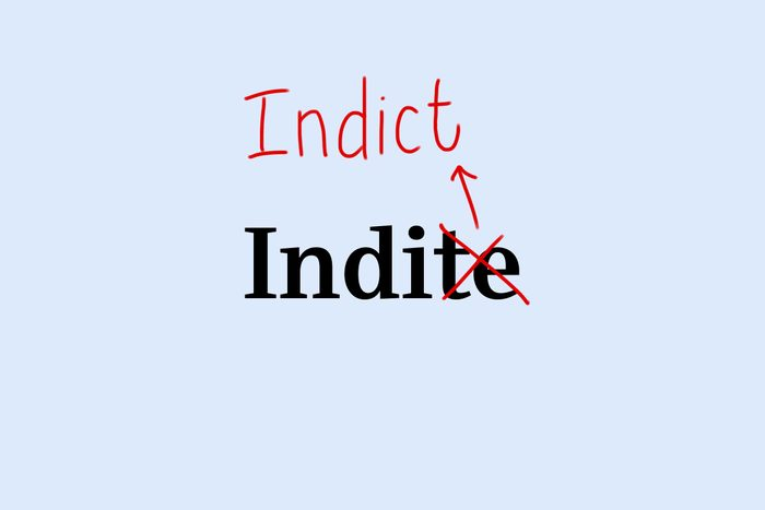 indict