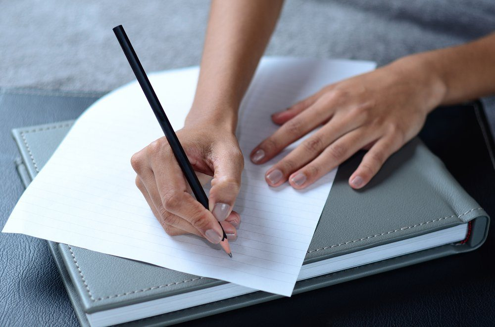writing a note