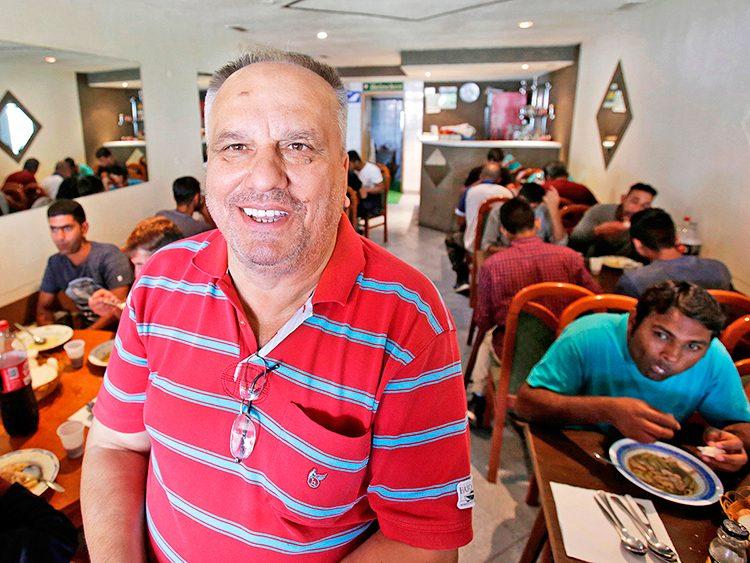 Café owner Asimn Latić