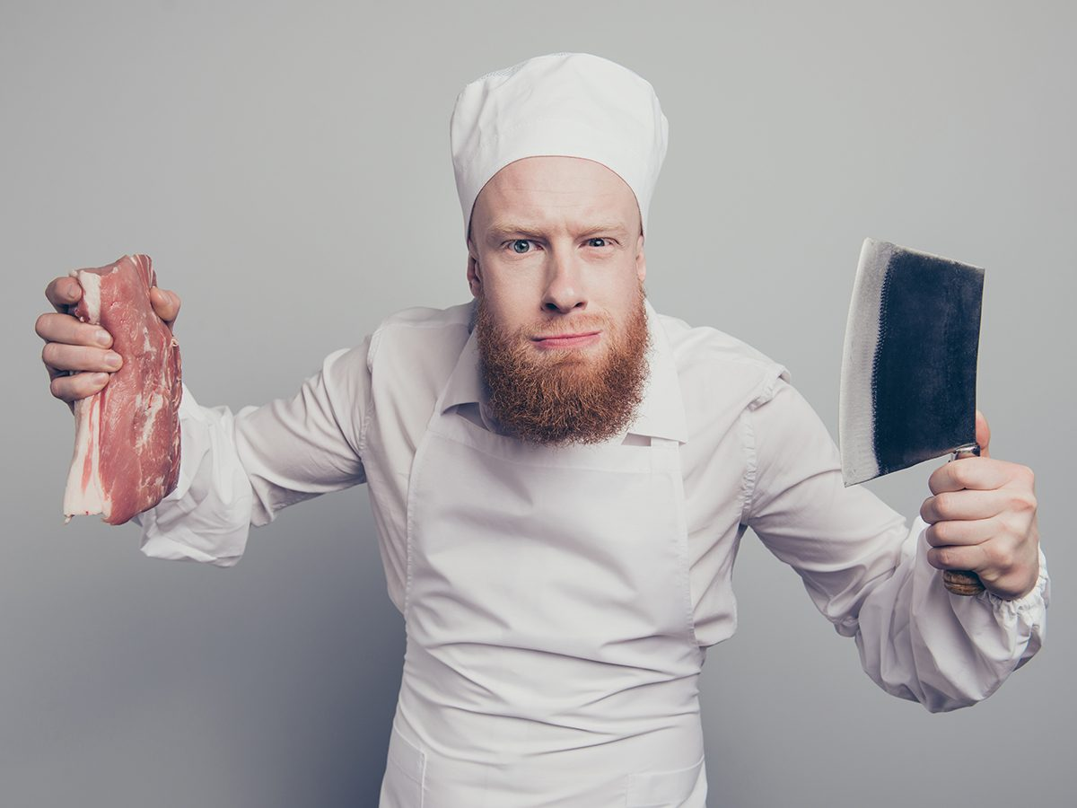 Funny butcher - best Reader's Digest jokes of all time