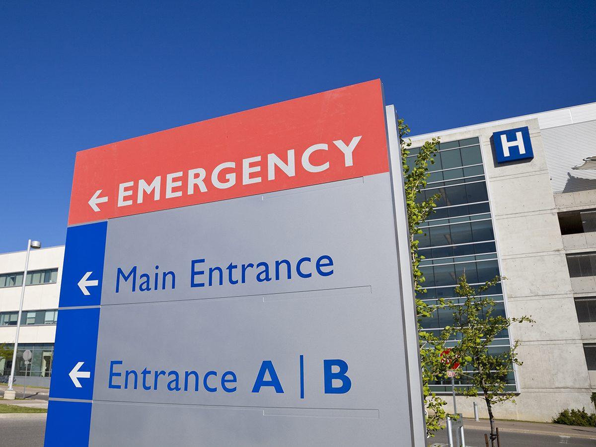 Best jokes of all time - hospital emergency room