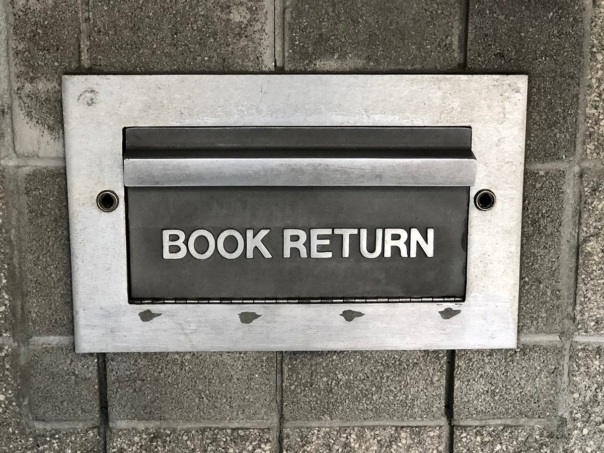 Best jokes of all time - library book return