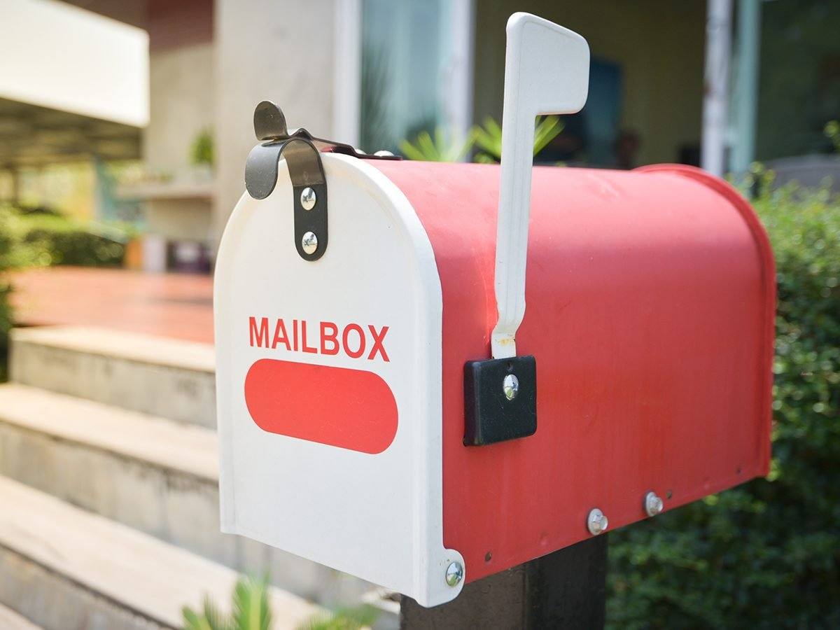 Reader's Digest - best jokes of all time - mailbox