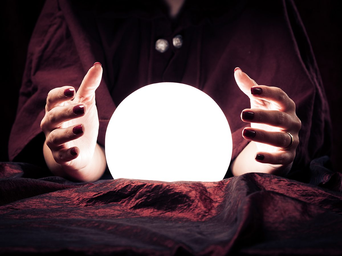 Best jokes of all time - psychic using crystal ball
