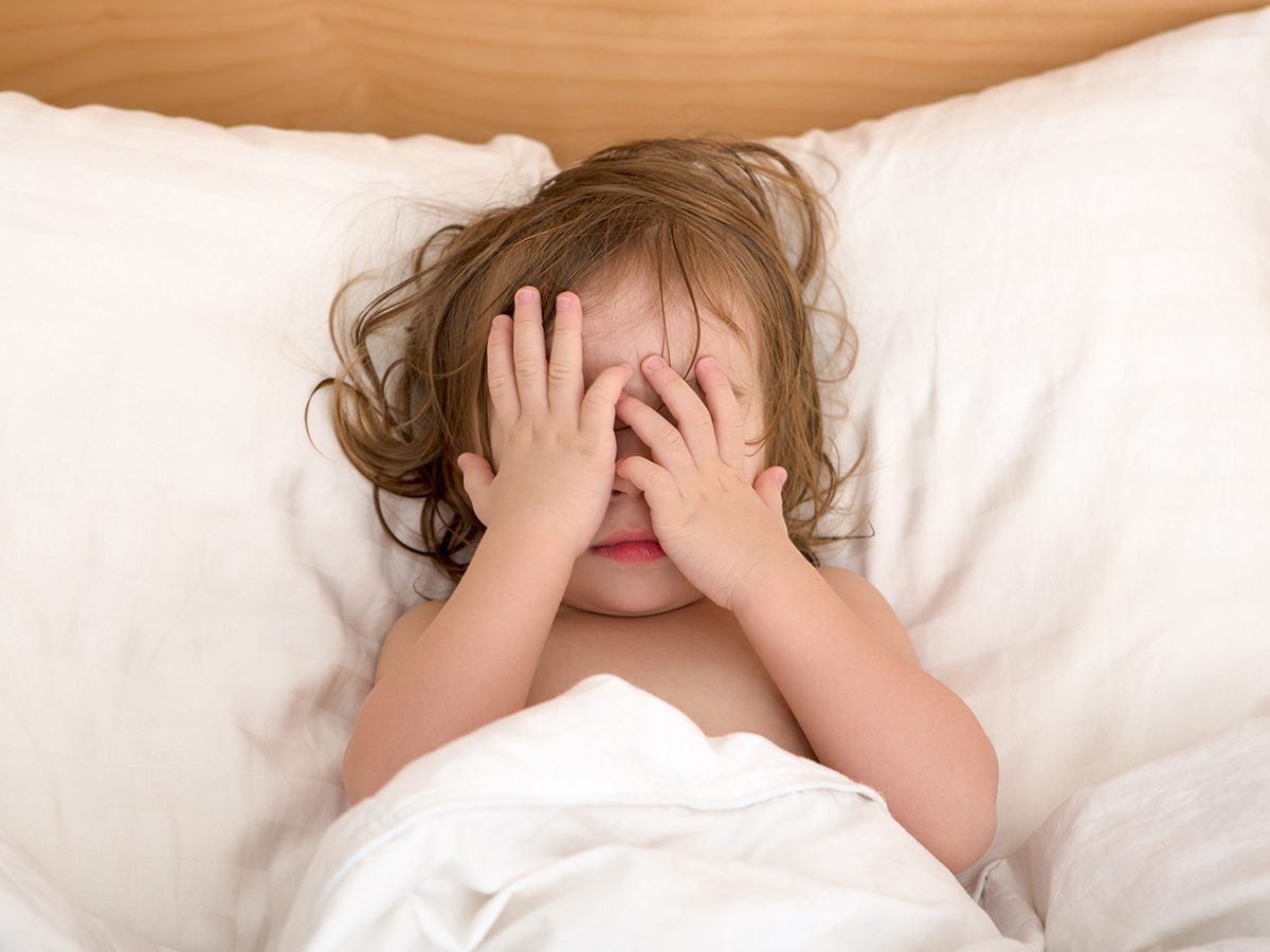 Best jokes of all time - toddler sleeping in bed