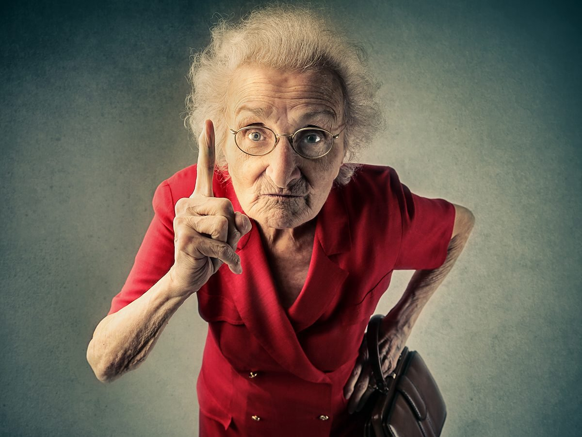 Best Reader's Digest jokes of all time - angry granny
