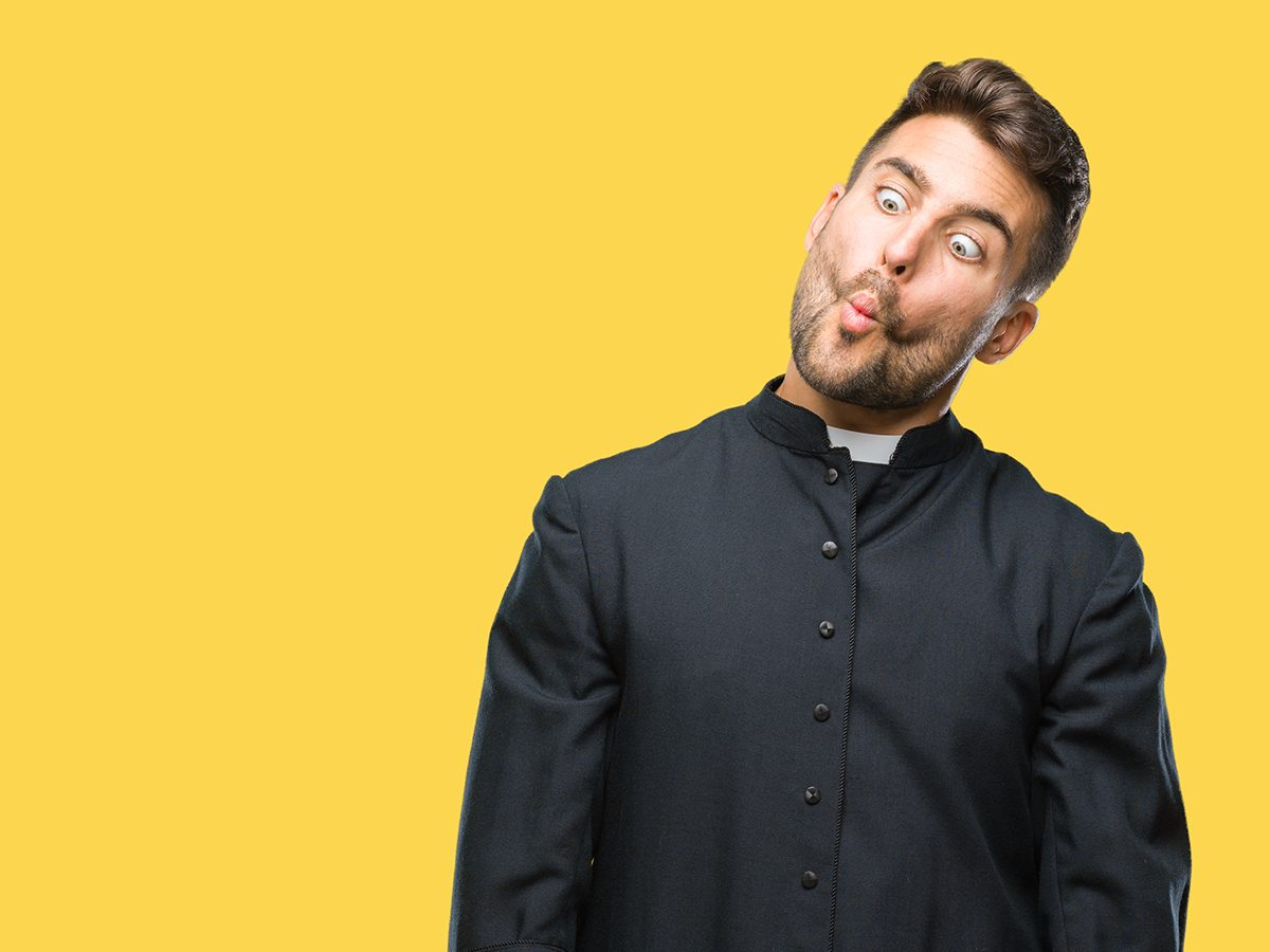 Best Reader's Digest jokes of all time - funny priest