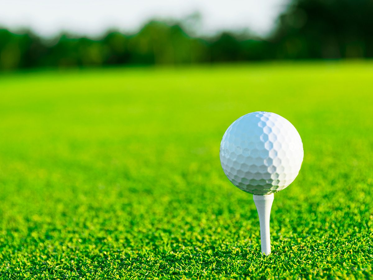 Best Reader's Digest jokes of all time - golf ball on tee