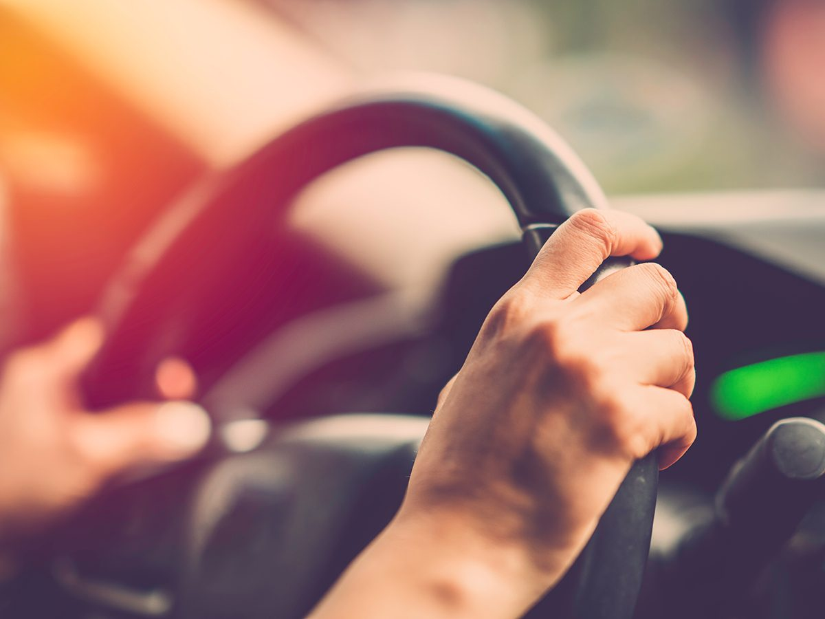 Best Reader's Digest jokes of all time - hands on steering wheel driving