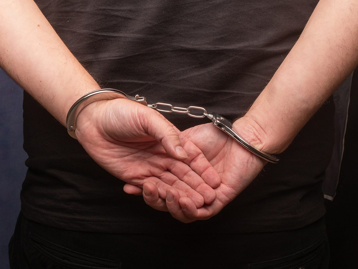 Best Reader's Digest jokes of all time - man in handcuffs