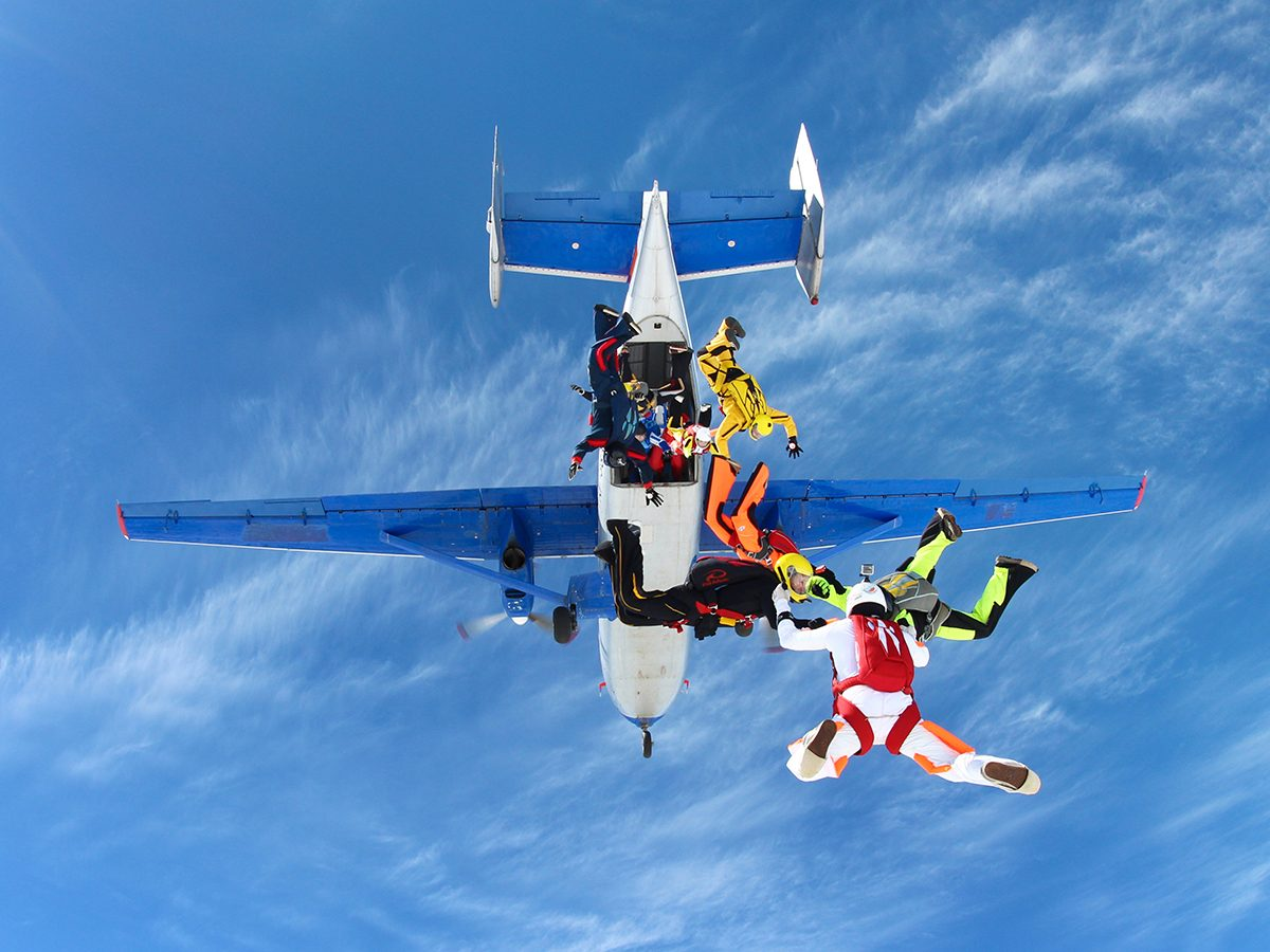 Best Reader's Digest jokes of all time - skydiving