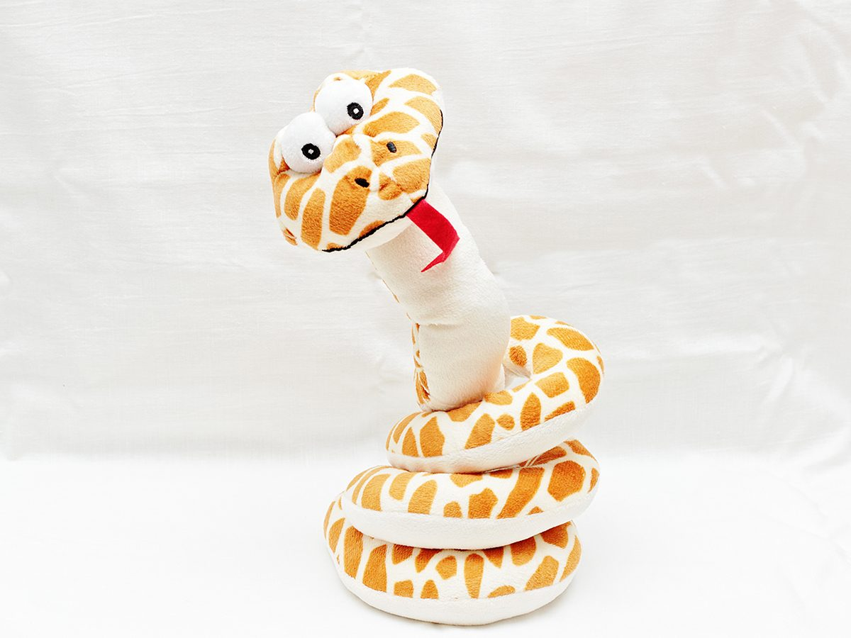 Stuffed animal snake - best Reader's Digest jokes of all time