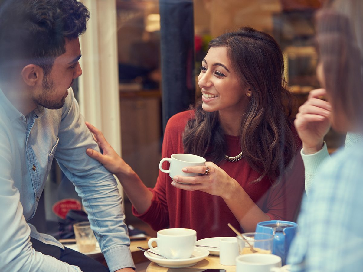 Best Reader's Digest jokes of all time - three people in coffee shop