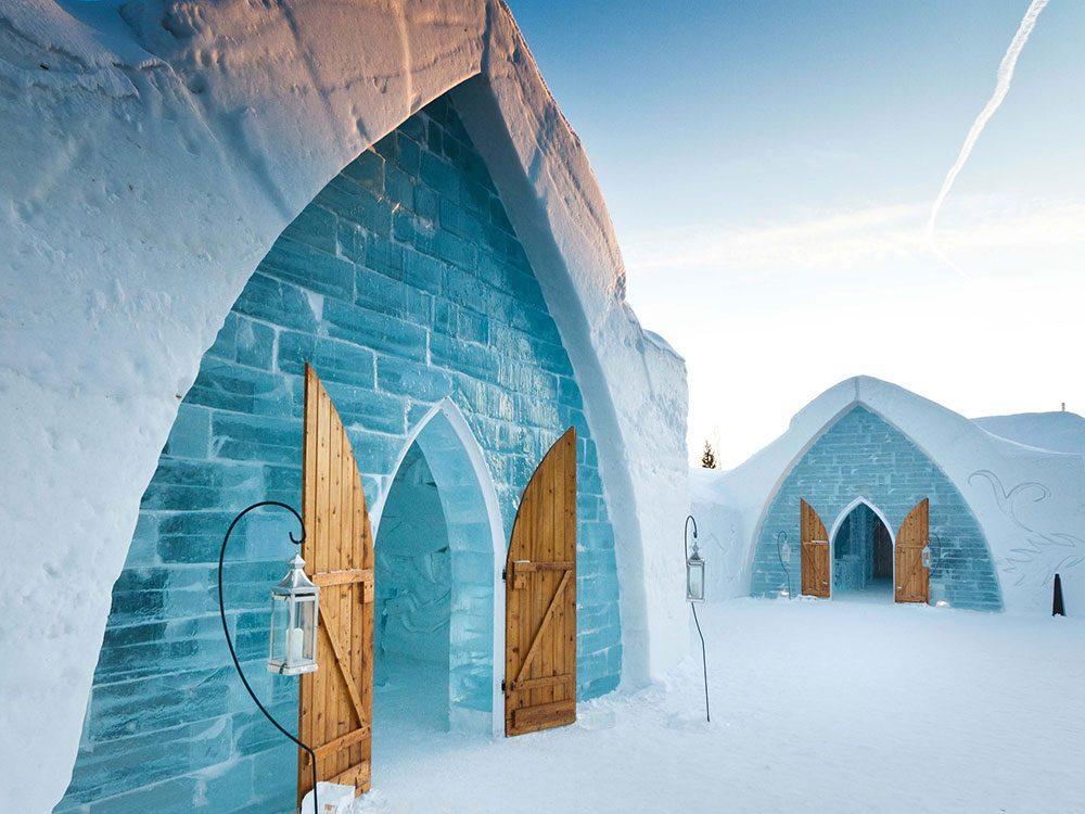 Canada attractions - Hotel de Glace