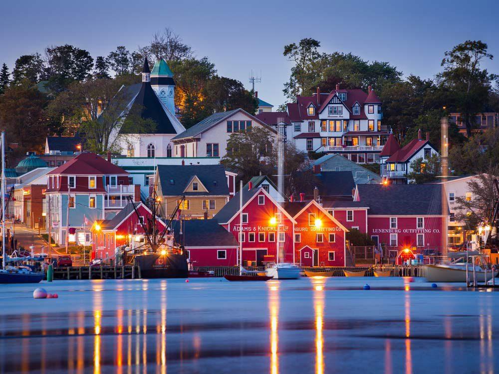 Canada attractions - Lunenberg