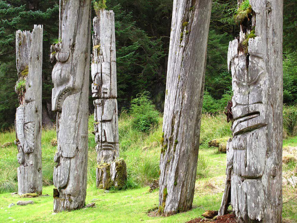 Canada attractions - SGang Gwaay
