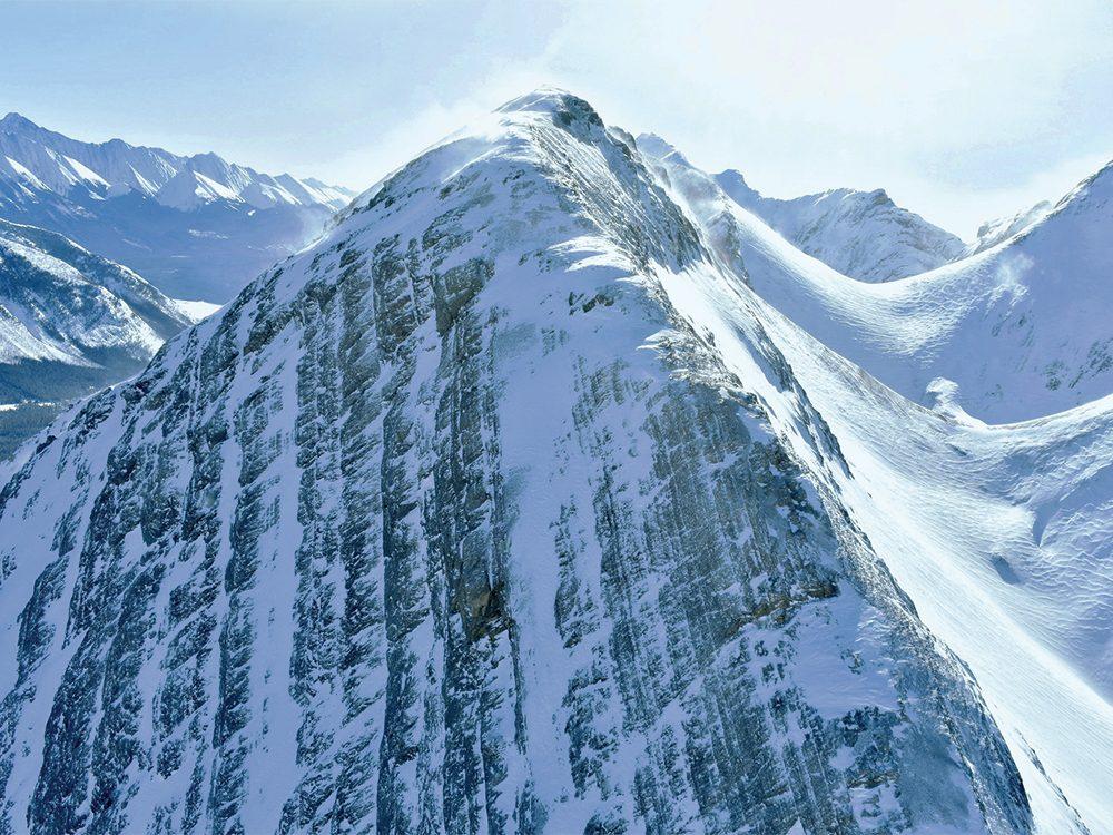 Peaks of Canadian Rockies