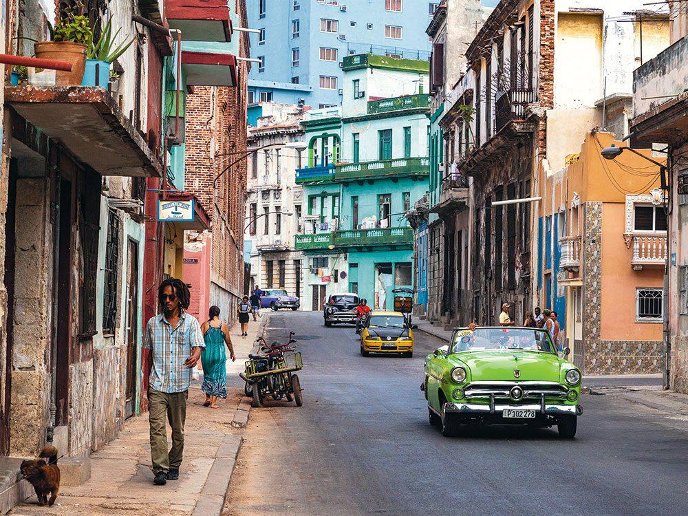Havana - vintage cars
