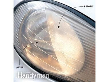 How to clean cloudy headlights: Before and after