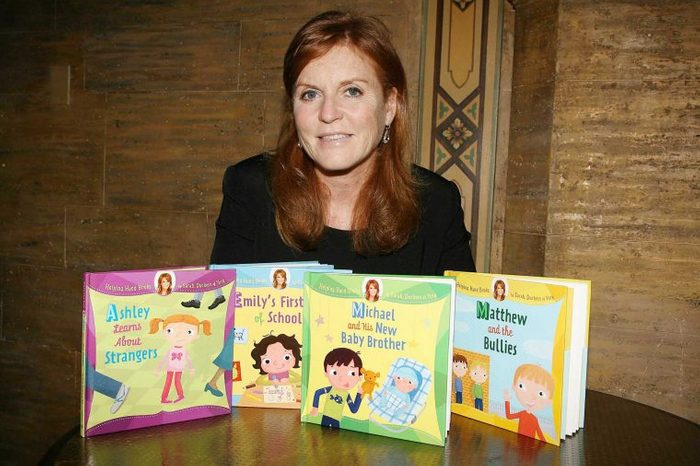 Sarah Ferguson, Duchess of York launches her 'Helping Hand Books', New York, America - 26 May 2010