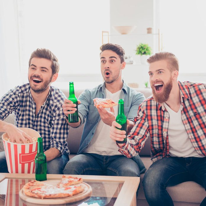 guys watching the game