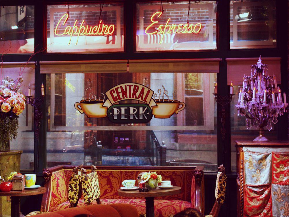 Central Perk set